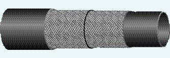 Рукава с нитяными оплетками и наружным резиновым слоем