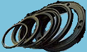 Манжеты и чистильщики из полиуретана для гидроцилиндра опрокидывающего механизма автосамосвалов марки КамАЗ