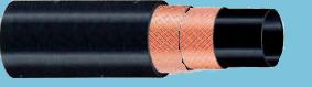 Рукава резиновые напорные с нитяным каркасом длинномерные облегченные ТУ 38 105998-91