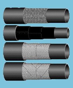 Трубки резиновые диэлектрические и рукава для перемычек и кабелей сварочных машин, стендов водоохлаждения высокочастотных генераторов, микроплазменных установок, водоохлаждения индукторов ТПЧ-800(320) ТУ 38 305104-03