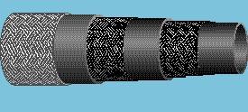 рукава резиновые оплеточной конструкции