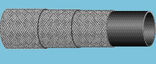 Рукава с нитяными оплетками без наружного слоя